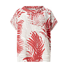 Buy East Palm Bardot Top, Hibiscus Online at johnlewis.com