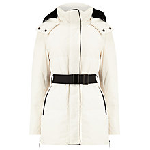 Buy Phase Eight Keela Coat, Ivory/Black Online at johnlewis.com