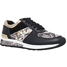 Buy MICHAEL Michael Kors Allie Wrap Flat Trainer Online at johnlewis.com
