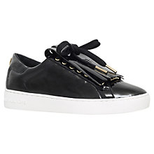 Buy MICHAEL Michael Kors Keaton Kiltie Lace Up Trainers Online at johnlewis.com