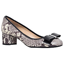 Buy MICHAEL Michael Kors Kiera Flex Court Shoes, Snake Print Online at johnlewis.com