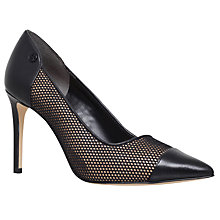 Buy MICHAEL Michael Kors Leilah Court Shoes, Black Online at johnlewis.com