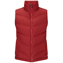 Buy BOSS Orange Oevan Hi-Tech Gilet, Medium Red Online at johnlewis.com