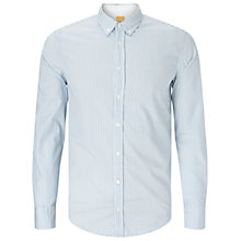 Buy BOSS Orange Edipo Slim Fit Shirt, Open Blue Online at johnlewis.com