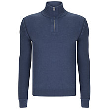 Buy BOSS Orange Kwemare Jumper, Navy Online at johnlewis.com
