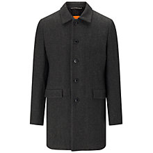 Buy BOSS Orange Bodhy Short Coat, Medium Grey Online at johnlewis.com