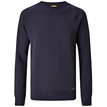 Buy BOSS Orange Wheel Slim Fit Jersey, Dark Blue Online at johnlewis.com