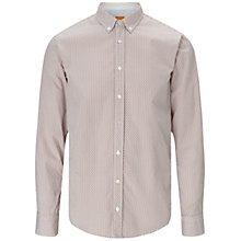 Buy BOSS Orange EdipoE Shirt, Medium Red Online at johnlewis.com