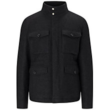 Buy BOSS Orange Ohawke Jacket, Black Online at johnlewis.com