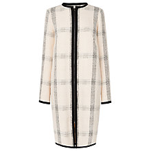 Buy L.K. Bennett Frida Check Coat, Multi Online at johnlewis.com
