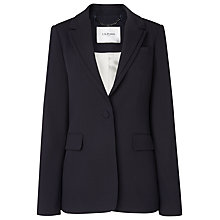 Buy L.K. Bennett Loretta Blazer, Black Online at johnlewis.com