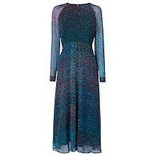 Buy L.K. Bennett Addison Printed Silk Dress, Multi Online at johnlewis.com