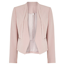 Buy Jacques Vert Petite Angular Edge Jacket, Light Neutral Online at johnlewis.com
