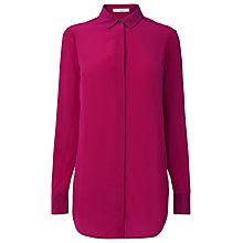 Buy L.K. Bennett Silk Ama Blouse, Pink Online at johnlewis.com
