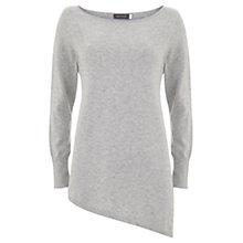 Buy Mint Velvet Asymmetric Side Split Knit Top Online at johnlewis.com