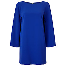 Buy Jacques Vert Petite Split Sleeve Tunic Dress, Bright Blue Online at johnlewis.com