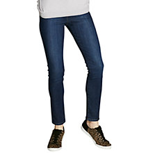 Buy Mint Velvet Lincoln Zip Skinny Jeans, Blue Online at johnlewis.com