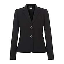 Buy Hobbs Celina Jacket, Black Online at johnlewis.com
