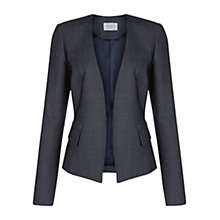 Buy Hobbs Carris Jacket, Navy/Ivory Online at johnlewis.com
