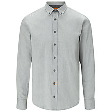 Buy BOSS Orange Edipoe Shirt, Light Grey Online at johnlewis.com