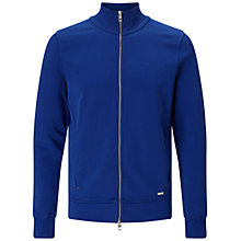 Buy BOSS Orange Zissou Zip Jacket, Aqua Online at johnlewis.com