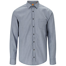 Buy BOSS Orange Eslime Shirt, Dark Blue Online at johnlewis.com