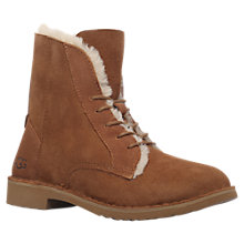 Buy UGG Quincy Lace Up Ankle Boots Online at johnlewis.com