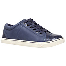 Buy UGG Taya Croco Low Top Trainers, Navy Online at johnlewis.com