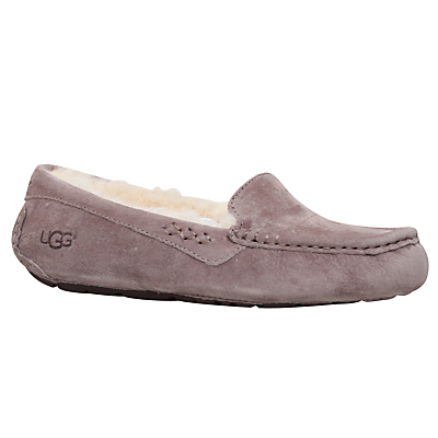 UGG Ansley Suede Slippers Grey Mid