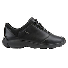 Buy Geox Nebula Trainers, Black Online at johnlewis.com