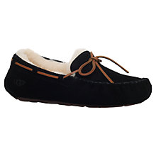 Buy UGG Dakota Suede Moccasin Slippers Online at johnlewis.com