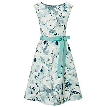Buy Jacques Vert Petite Frosted Garden Prom Dress, Mid Green Online at johnlewis.com