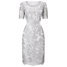 Buy Jacques Vert Hatch Lace Shift Dress, Grey Online at johnlewis.com
