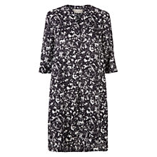 Buy Hobbs Sandra Tunic Dress, Navy/White Online at johnlewis.com