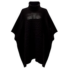 Buy Somerset by Alice Temperley Cable Poncho Online at johnlewis.com