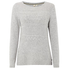 Buy White Stuff Cable Car Jumper, Wolf Grey Online at johnlewis.com