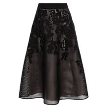 Buy Coast Mareesha Lace Skirt, Mono Online at johnlewis.com