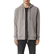 Buy AllSaints Jenner Hoodie, Putty Online at johnlewis.com