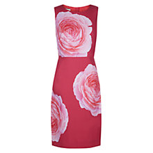 Buy Hobbs Christiana Dress, Crushed Berry Online at johnlewis.com