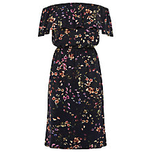 Buy Warehouse Trailing Floral Bardot Dress Online at johnlewis.com