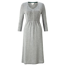 Buy East Pintuck Flared Dress, Greystone Online at johnlewis.com