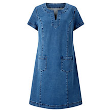 Buy East Pocket Detail Denim Dress, Indigo Online at johnlewis.com