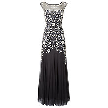 Buy Phase Eight Collection 8 Sabine Tulle Dress, Charcoal/Multi Online at johnlewis.com