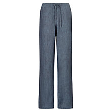 Buy East Linen Wide Leg Trousers Online at johnlewis.com