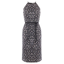 Buy Oasis Ditsy Print Plisse Dress, Multi Online at johnlewis.com