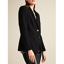 Buy Modern Rarity Fitted Split Sleeve Jacket, Black Online at johnlewis.com
