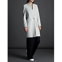 Buy Modern Rarity Notch Collar Coat, Light Blue Online at johnlewis.com
