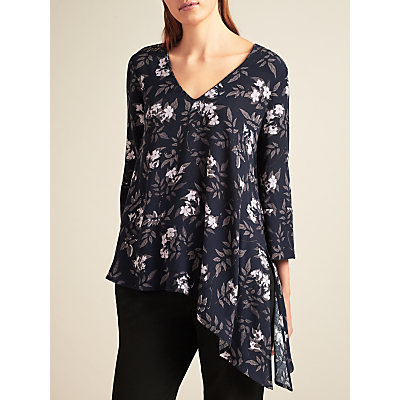Modern Rarity Archive Print Side Split Shirt, Multi