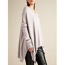 Buy Modern Rarity V-Neck Oversize Jumper, Mist Online at johnlewis.com