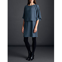 Buy Modern Rarity Double Layer Dress, Petrol Online at johnlewis.com